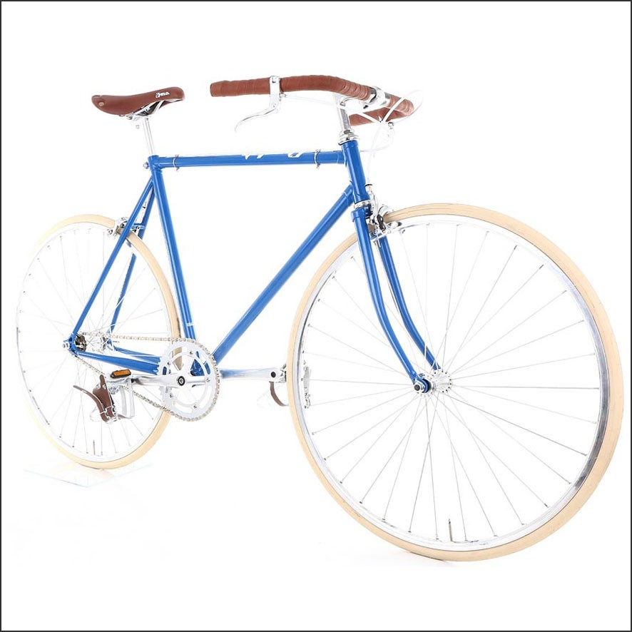 Cheetah Bicycles Cafe Racer Blue