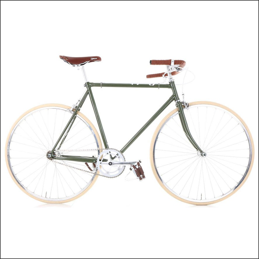 Cheetah Bicycles Cafe Racer Green | The Bike Messenger