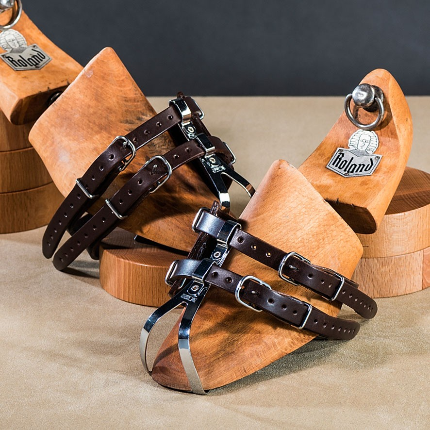 Leather Double Straps Toe Clips The Bike Messenger