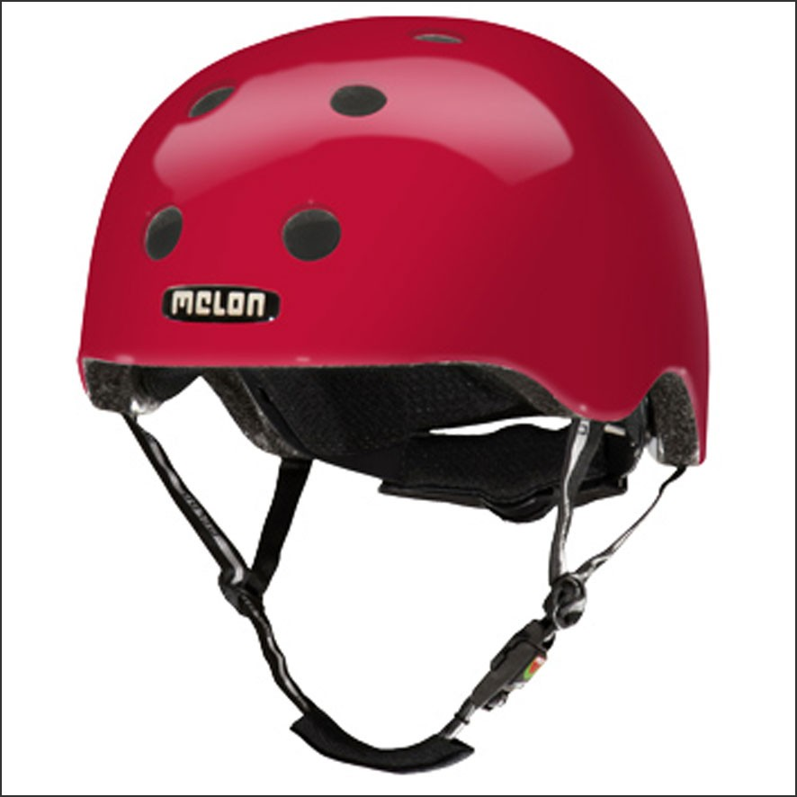 Melon Bicycle Helmet Red Berry | The Bike Messenger