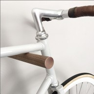 Bike Hooks Walnut 3