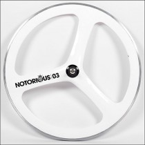 Notorious 03 wheel white