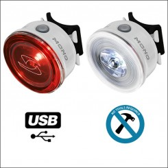 Bike Lights, LED, Wheel Lighst, Reflective Stripes | The Bike Messenger