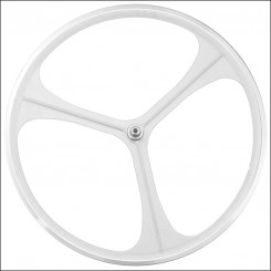 3 Spoke Wheel white