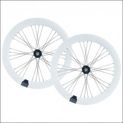 Wheelset 70mm White