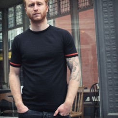 Firenze Nero bicycle shirt