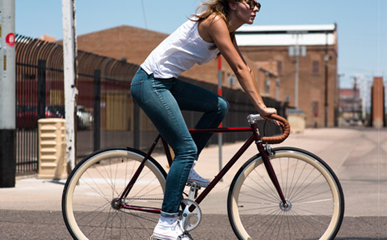 Asthon fixed gear bicycles
