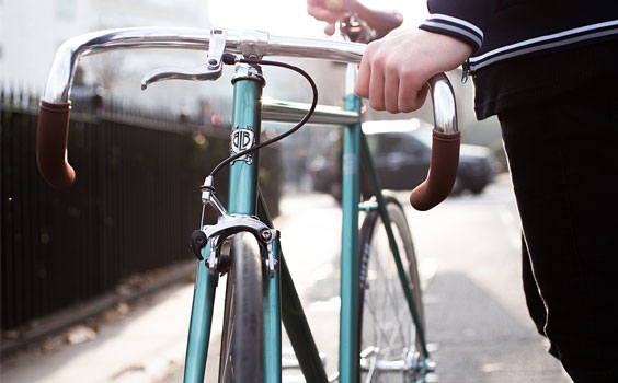 BLB City Classic Single Speed Derby Green