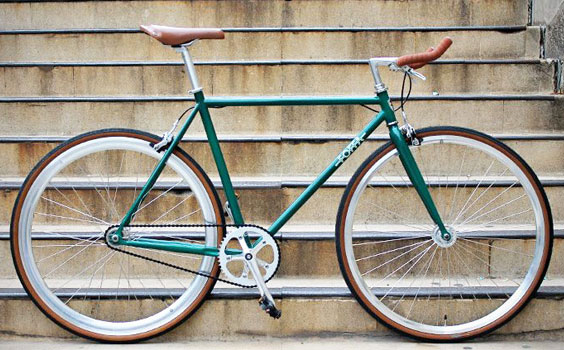 Foffa Bikes Single Speed Green