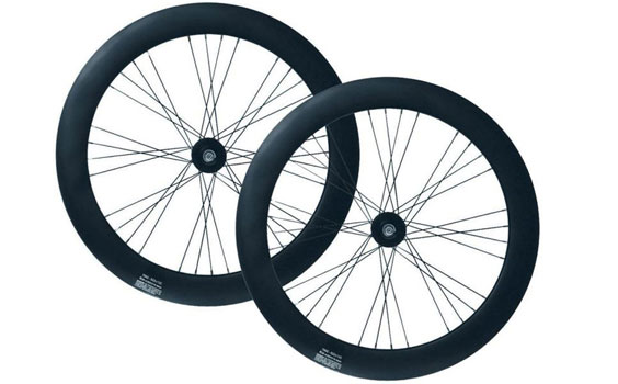 Wheelset Matte Black 70mm