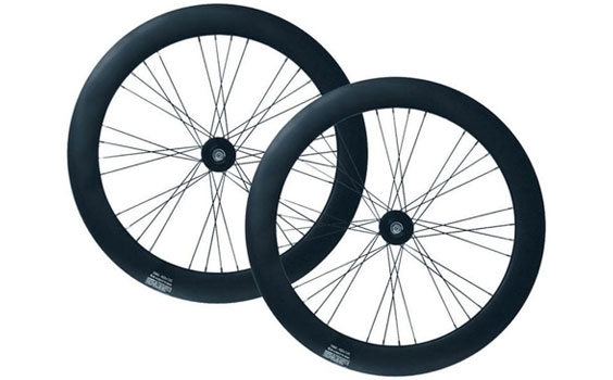 Matte Black Wheelset 70mm