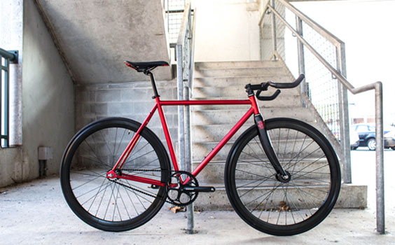 State Bicycle Co model Contender Red